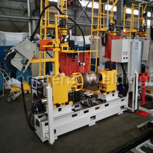 Longterm welding fire extinguisher Automatic-circumferential-seam-weldinh-machine from China
